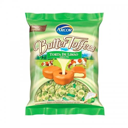 BALA BUTTER TOFFEES TORTA DE LIMÃO 500 GR