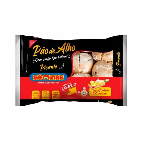 PAO ALHO BOLINHA PICANTE SOMINAS 12/300G