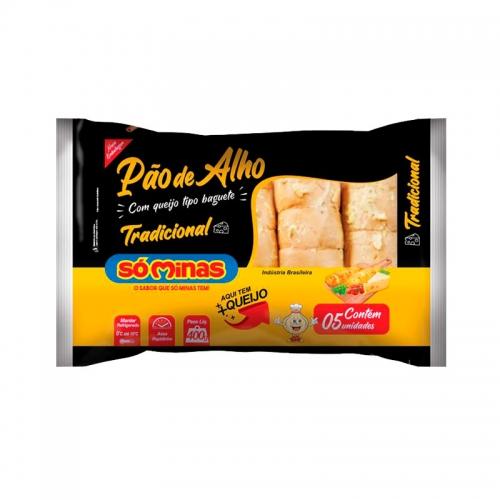 PAO ALHO BAGUETE TRADIC SOMINAS 12/400 G