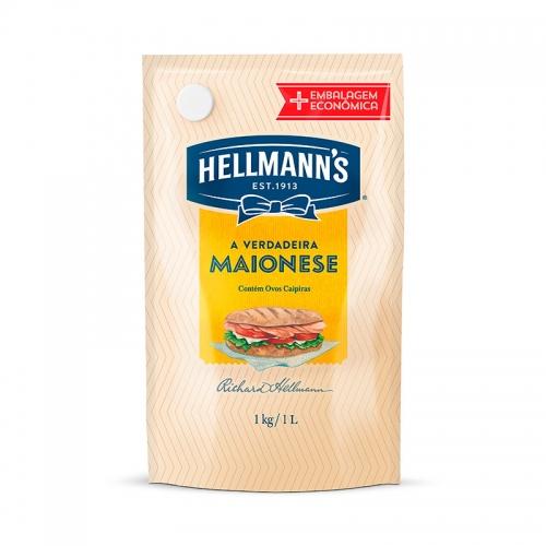 Maionese Hellmann's 1kg