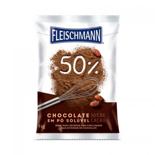CHOCOLATE EM PÓ 50% FLEISCHMANN 1 KG