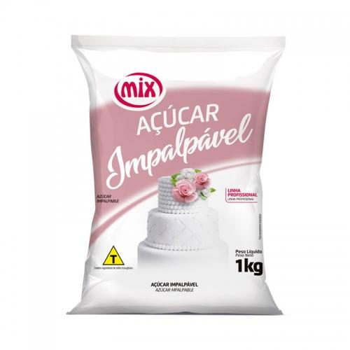 Açúcar de Confeiteiro Impalpável Mix 1Kg