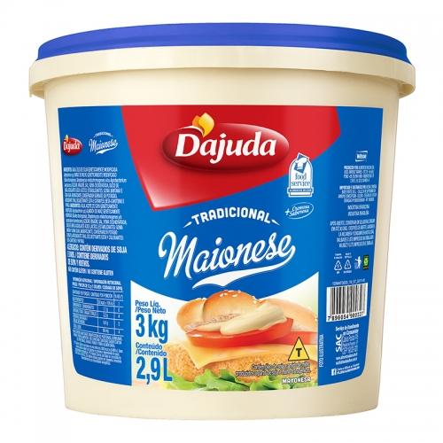 Maionese D'ajuda 3kg