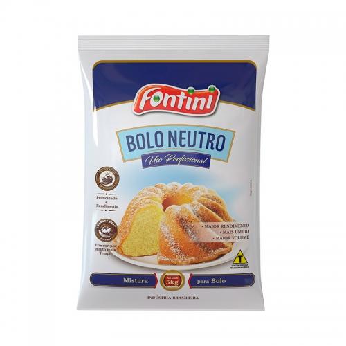 Mistura para Bolo Fontini Neutro 5Kg