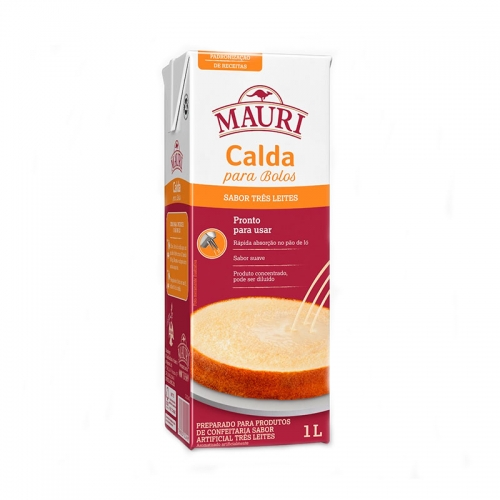 CALDA TRÊS LEITES MAURI 1 LT