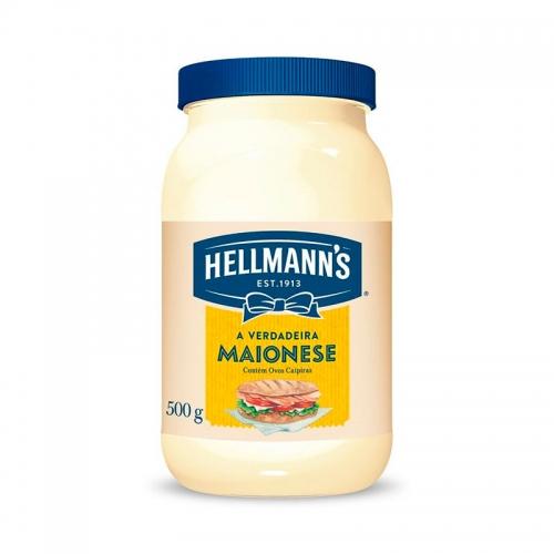 MAIONESE HELLMANN'S POTE 12/500 GR