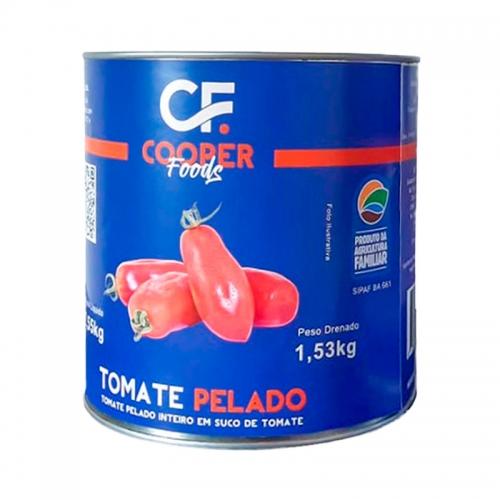 TOMATE PELADO COOPER FOODS LATA 2,53 KG
