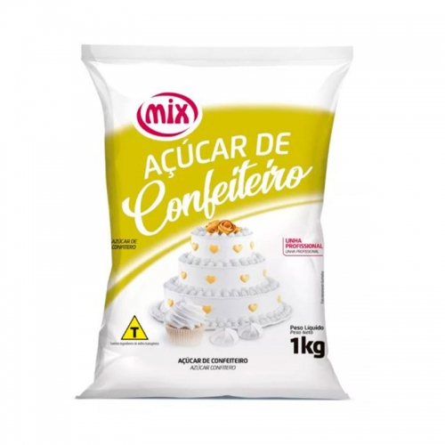 AÇÚCAR DE CONFEITEIRO MIX 1 KG