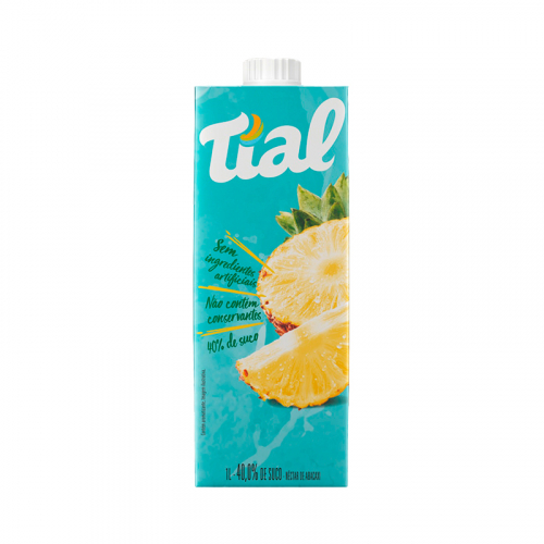 SUCO TIAL CAIXA TAMPA 12x1 LT ABACAXI