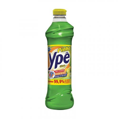 Desinfetante Pinho Ypê Citrus - 12 uni. de 500ml