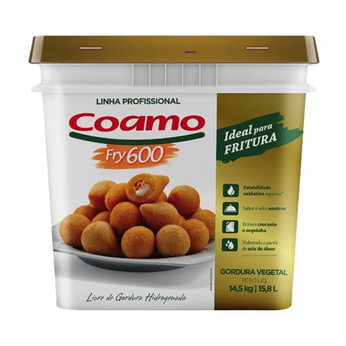GORDURA FRITURA COAMO FRY 600 BD 14,5 KG