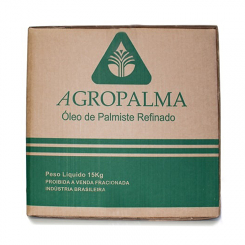 ÓLEO PALMISTE REFINADO AGROPALMA 15 KG