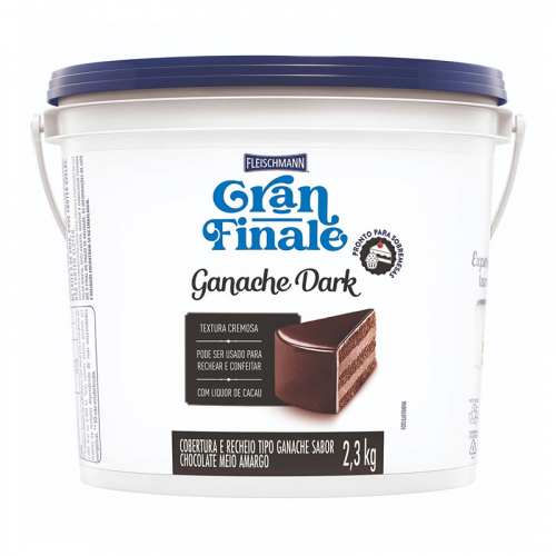GANACHE CHOCOLATE DARK GRAN FINALE 2,3 KG