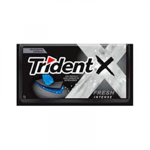 CHICLETE TRIDENT X FRESH INTENSE 21x40 GR