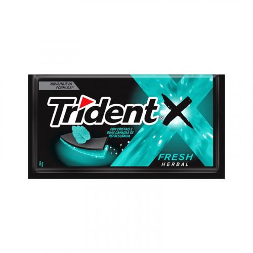 Trident Fresh Herbal - 21 uni. de 40 grs