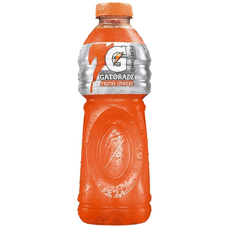 Isotônico Gatorade Frutas Cítricas - 6 uni. de 500 ml