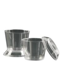 Taça para Mousse Acrilico Strawpl - 10 und 180 ml