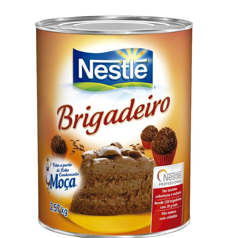Massa Brigadeiro Nestlé 2,570kg