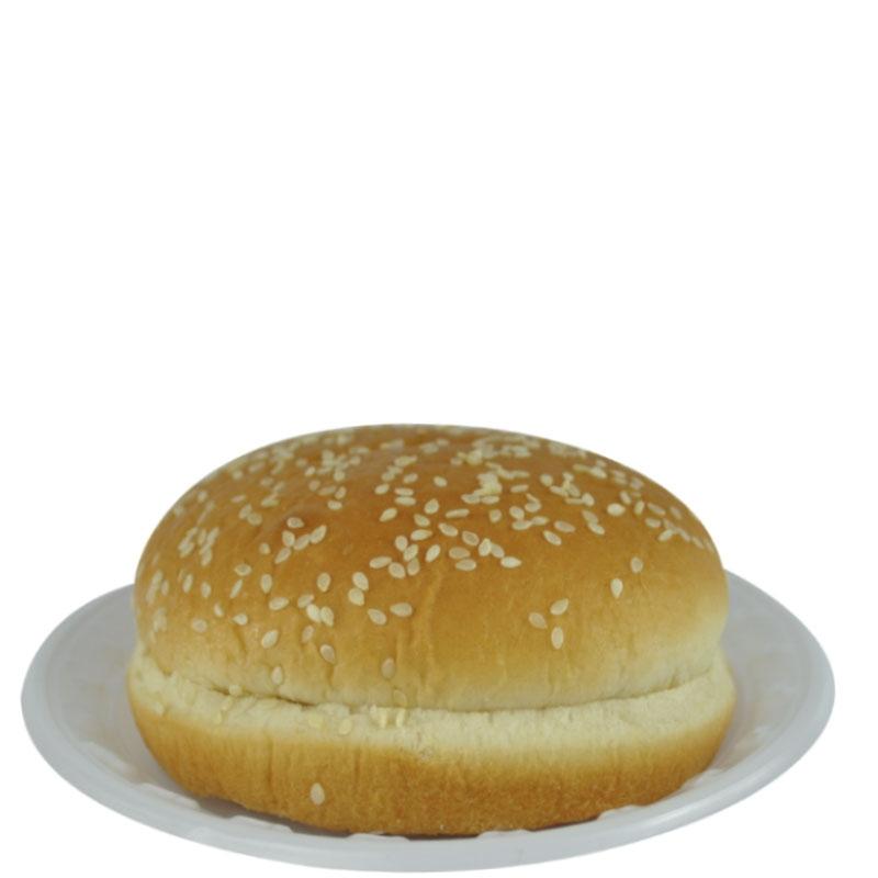 Pão de Hambúrguer Mônaco Cortado c/ Gergelim - 192 uni. de 75 grs