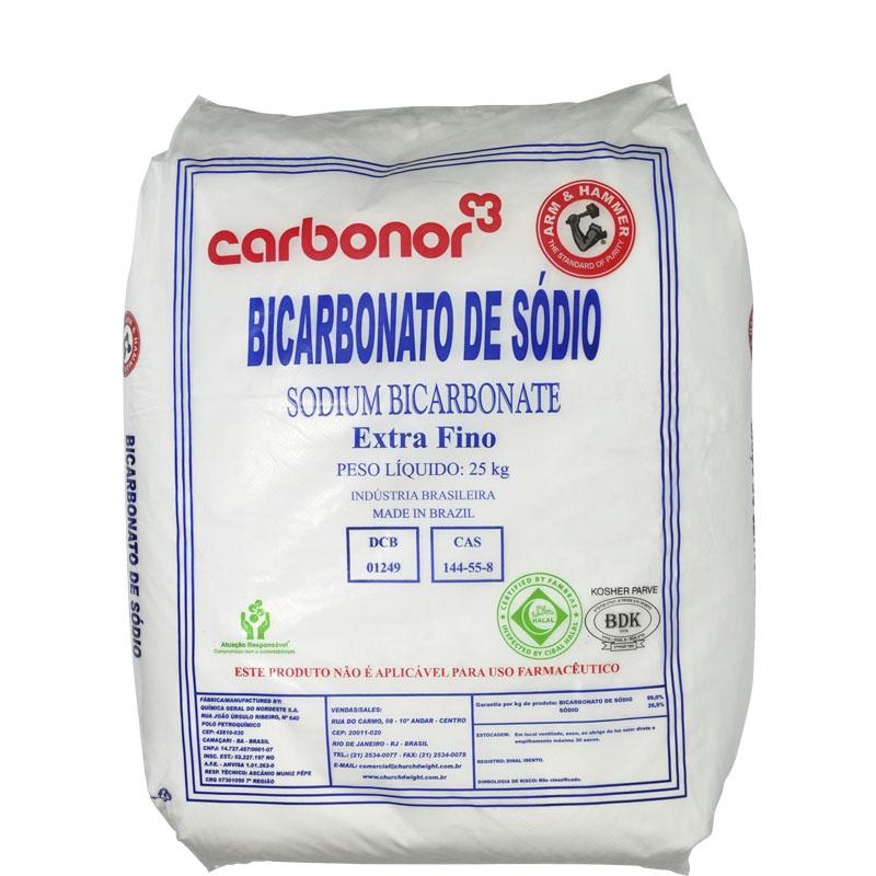Bicarbonato de Sódio Extra Fino 25kg