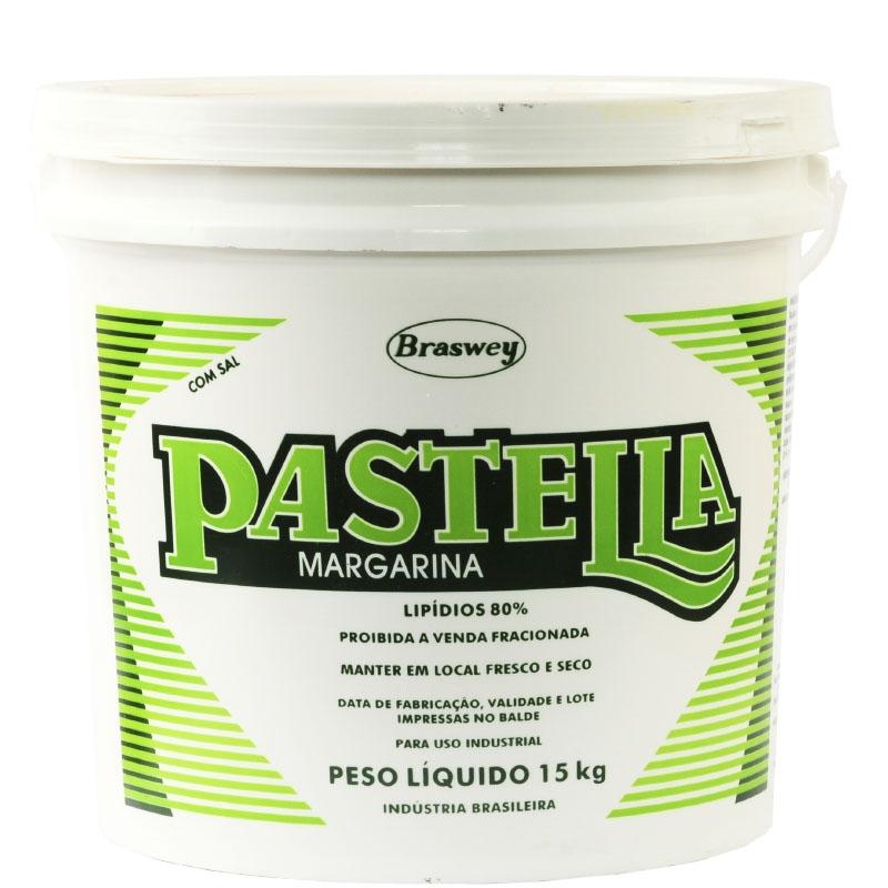 Margarina Pastella 80% Lipídeos 15Kg