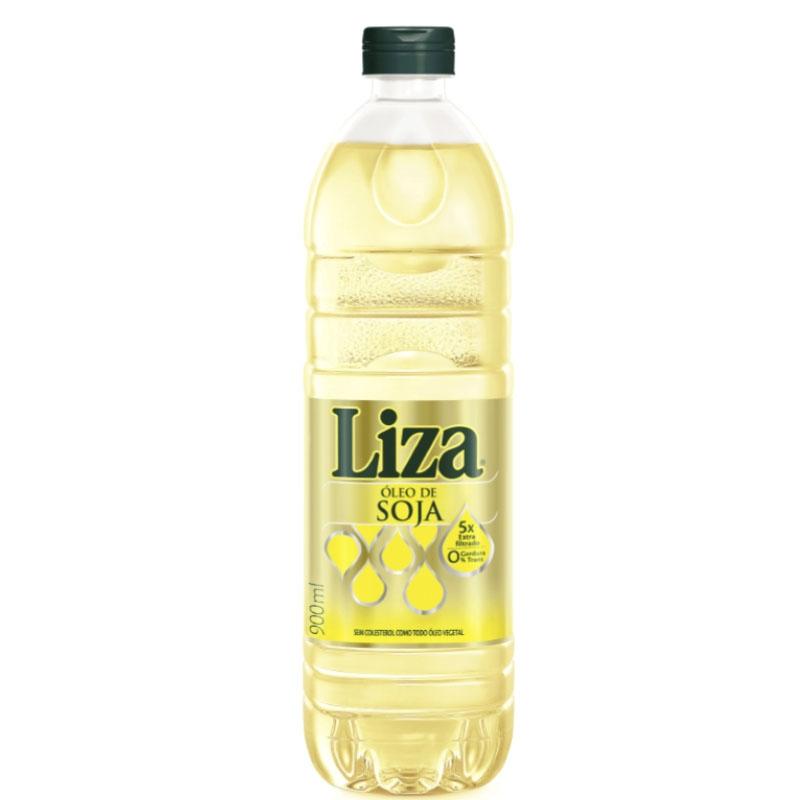 Óleo de Soja Liza - 20 unidades de 900ml - Pet