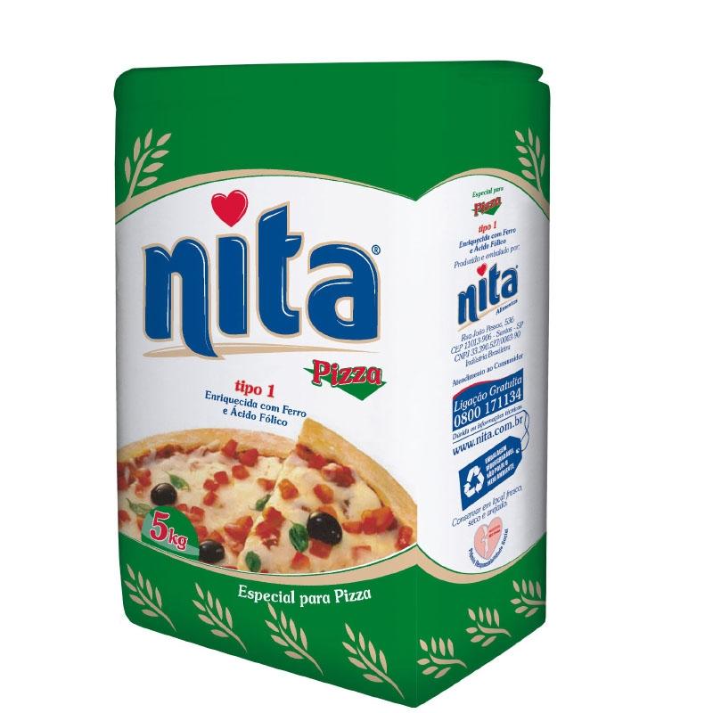 Farinha de trigo Nita Pizza/Salgado 5Kg