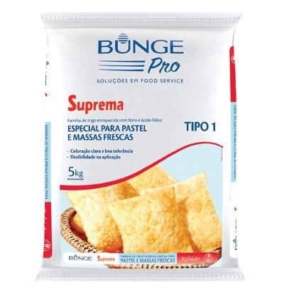 Farinha de trigo Bunge Pastel 5Kg