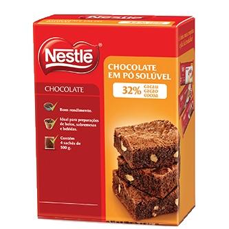 Chocolate em pó Nestlé 32% 1kg