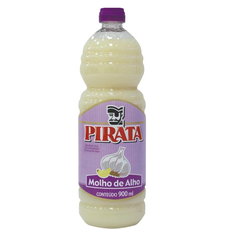 Molho Alho Pirata Pet - 900 ml
