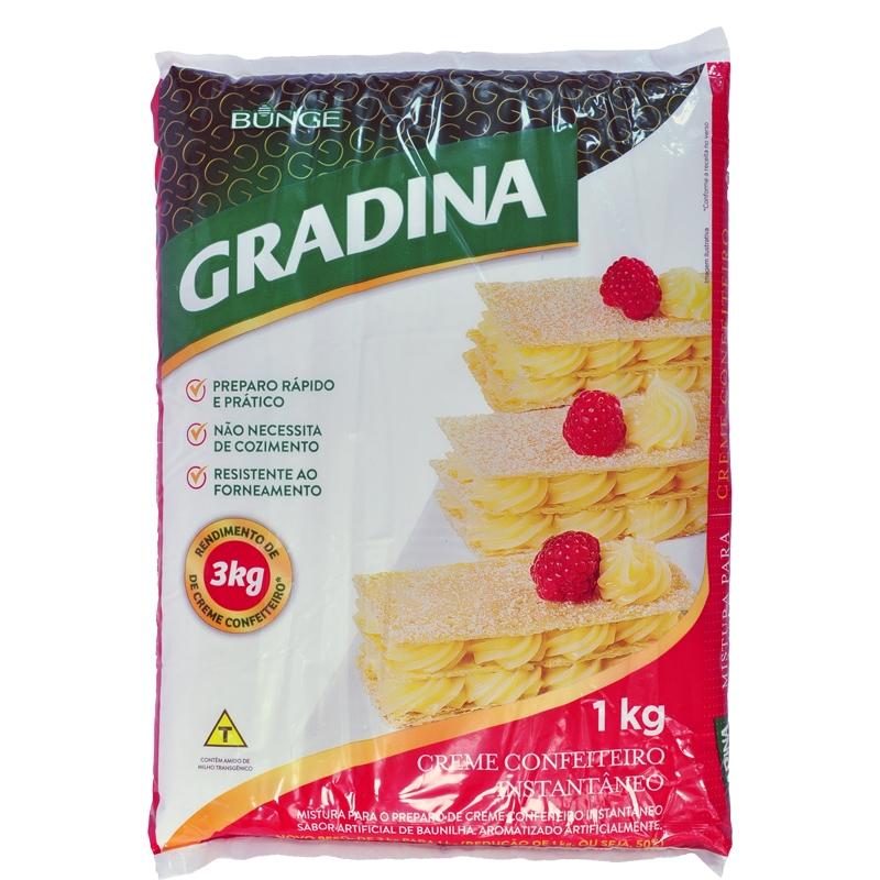 Mistura Creme a Frio Gradinha - 1kg