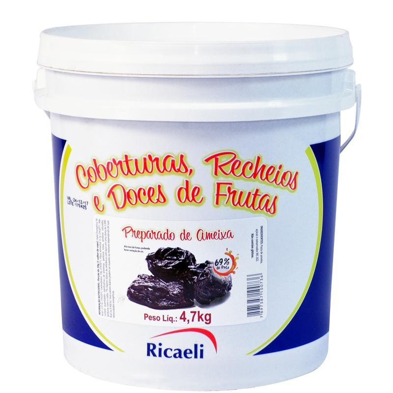 Polpa de Ameixa Ricaeli 4,7g