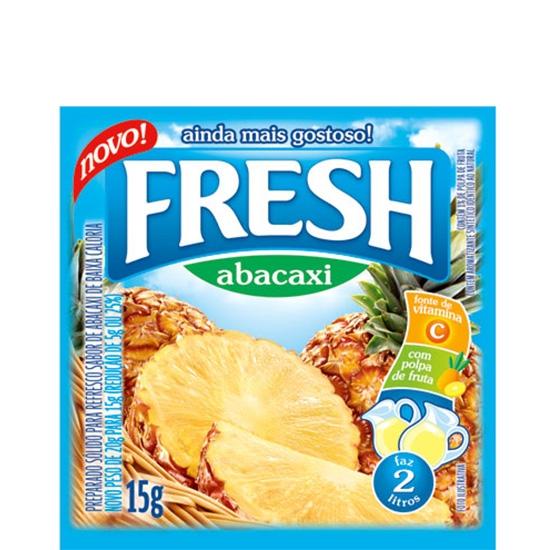 Refresco Fresh Abacaxi 15 uni. de 15grs