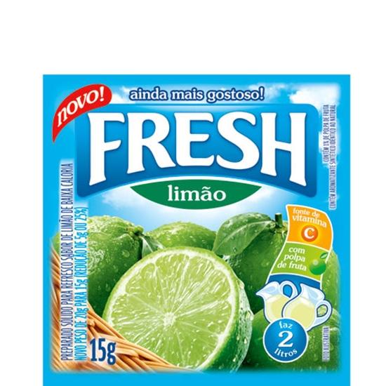 Refresco Fresh Limão 15 uni. de 10grs