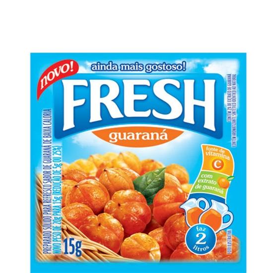 Refresco Fresh Guaraná 15 uni. de 10grs