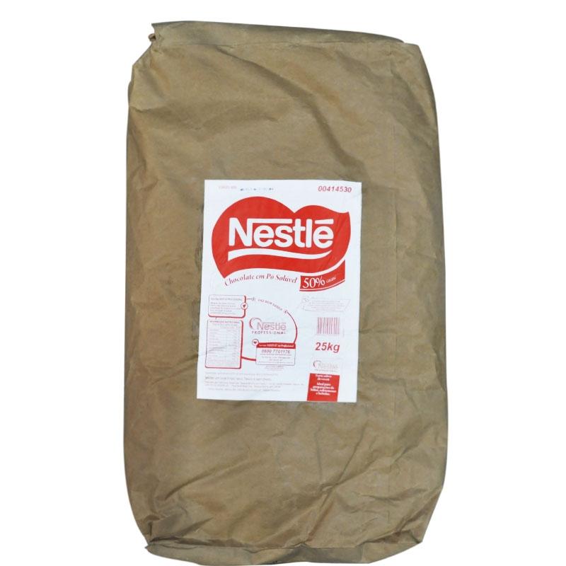 Chocolate em pó Nestlé 50% 25kg