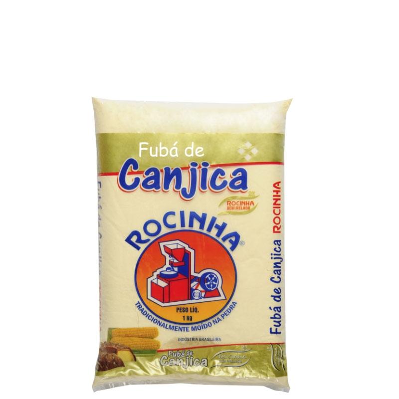 Fubá de Canjica Rocinha - Fardo 10 uni. de 1Kg