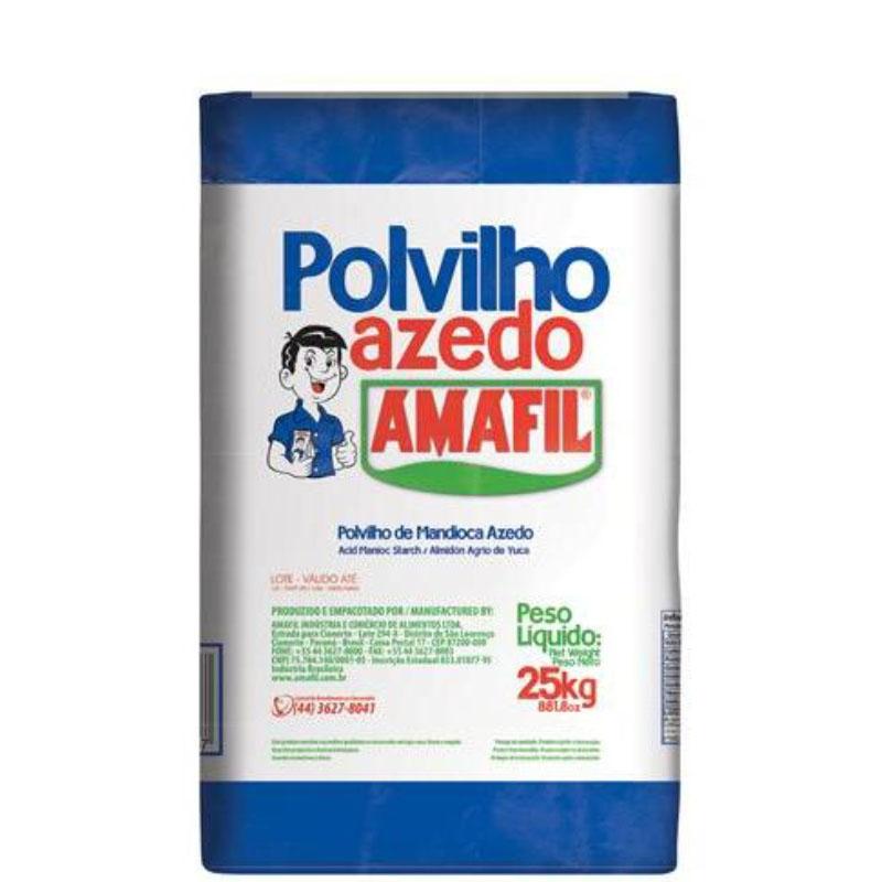 Polvilho Azedo Amafil 25Kg
