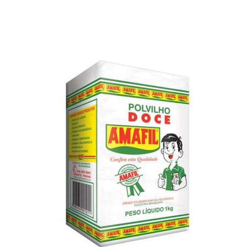 Polvilho Doce Amafil - Papel   Fardo 20 uni. de 1Kg