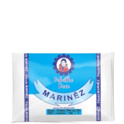 Polvilho Doce Marinêz - Fardo 20 uni. de 1Kg