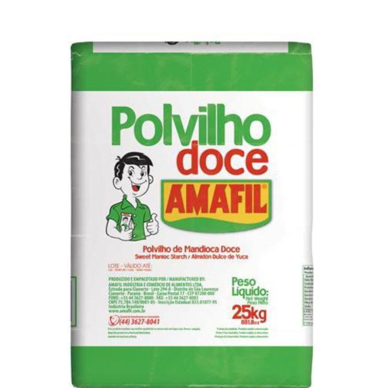 Polvilho Doce Amafil 25Kg