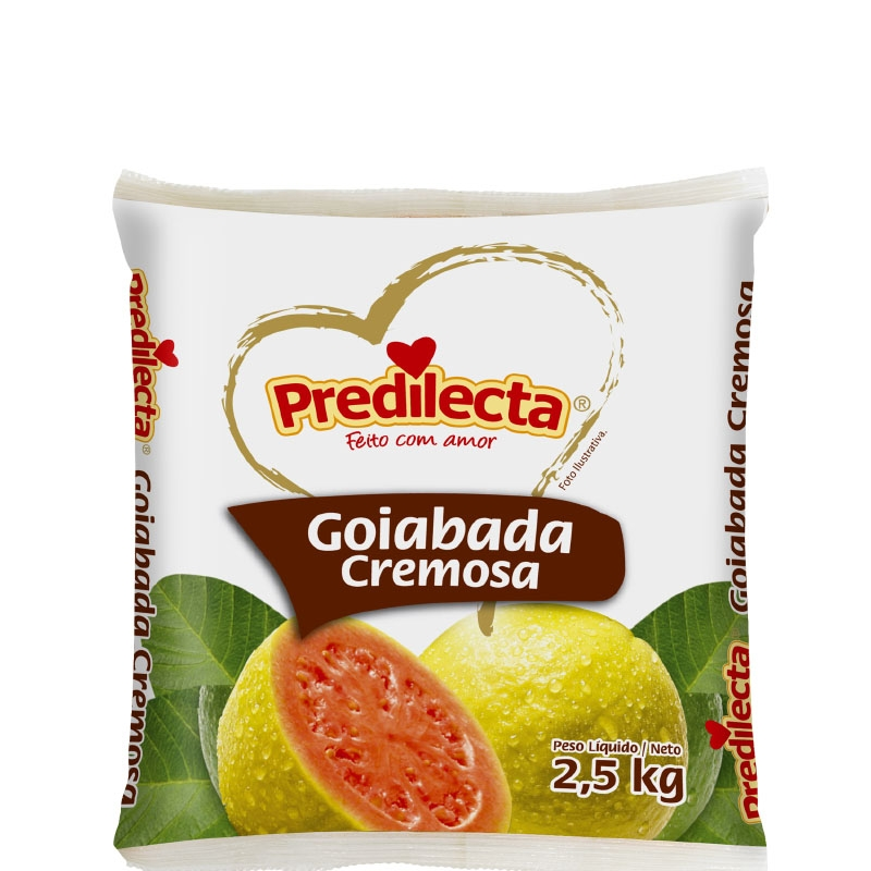 Doce de Goiaba Cremoso 2,5kg Predilecta