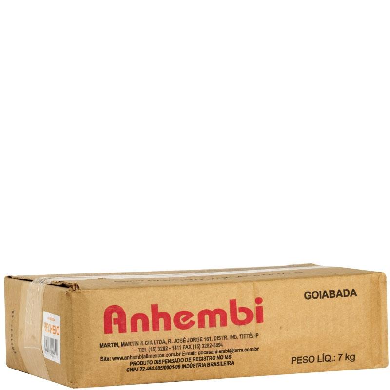 Goiabada Forneável 7kg Anhembi