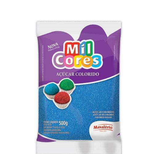 Açúcar Granulado Azul Mavalério 500 grs