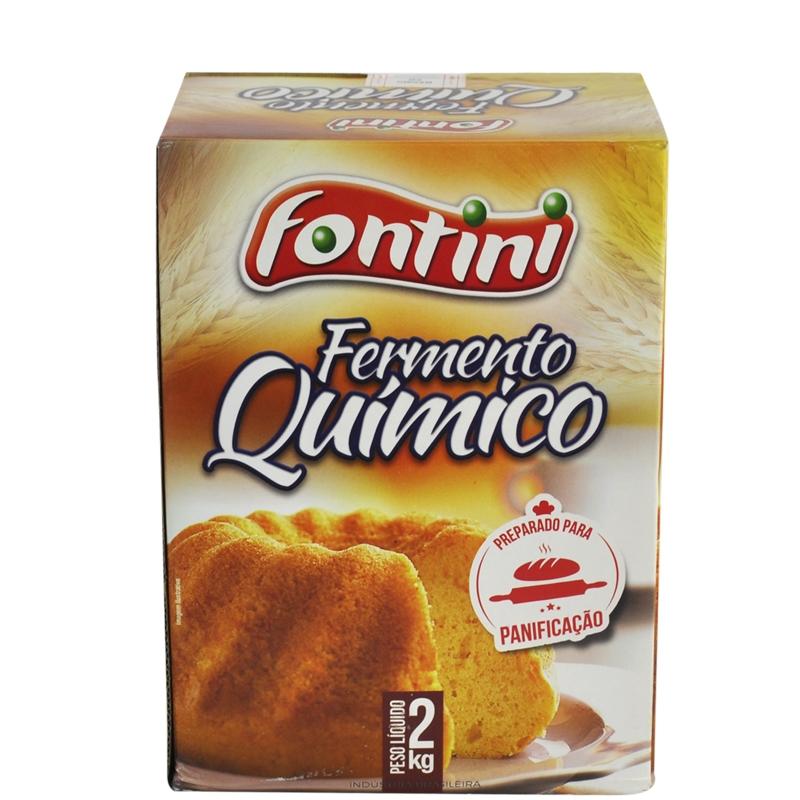 Fermento Em Pó Químico Fontini 2 Kg