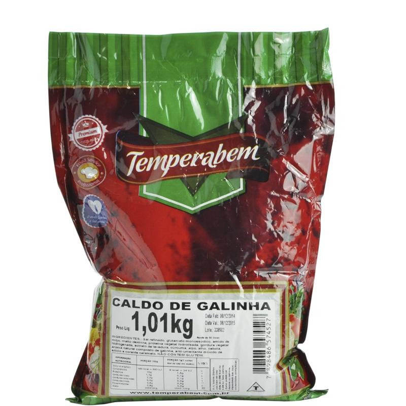 Caldo de Galinha Temperabem 1,01kg