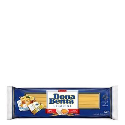Macarrão Linguine Ovos Dona Benta 500grs - 24 uni.