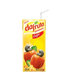 Suco Dafruta Sabor Caju - 27 und. de 200 ml