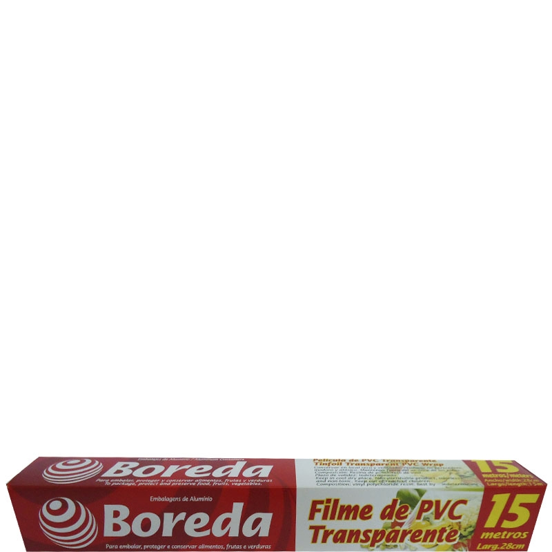 Rolo Filme de PVC Boreda 28x15 cm.