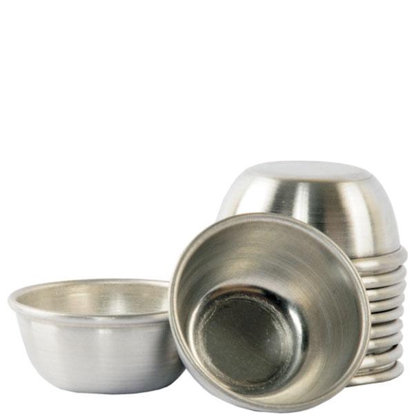 Forminha de Alumínio p/ Quindim 3,6 x 2,5 x 5,8 cm Doupan 12 uni.